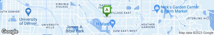Map of LaMar's Donuts