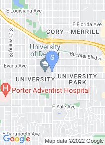 University of Denver map
