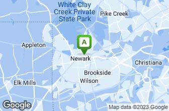 Map of Cleveland Avenue Sub Shop