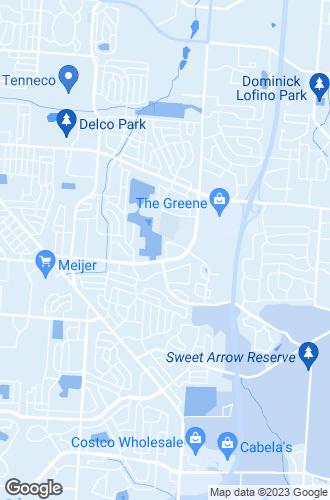 Map of Beavercreek