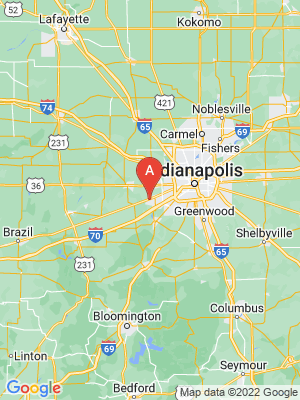 NEW HOMES map in Plainfield, Indiana, USA