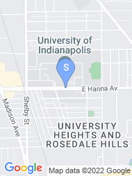 University of Indianapolis map