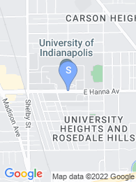 Uindy map