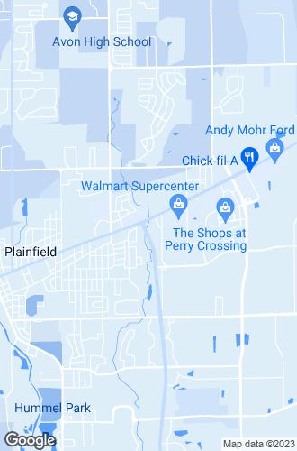 Map of Plainfield