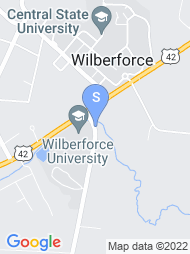Wilberforce University map