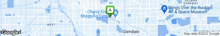 Map of Elway's Cherry Creek
