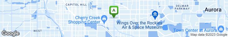 Map of Fero's Bar & Grill