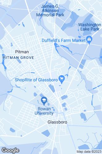 Map of Glassboro