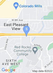 Red Rocks Community College map