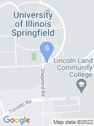 Lincoln Land Community College map
