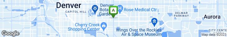 Map of Smiling Moose Cafe