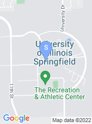 University of Illinois Springfield map