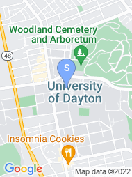University of Dayton map