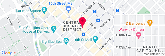Map for Denver Day of Rock