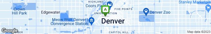 Map of alto Denver