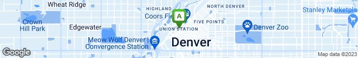 Map of Jax Fish House - Denver