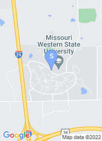 Missouri Western State University map