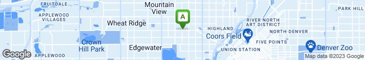 Map of Highland's Garden Cafe