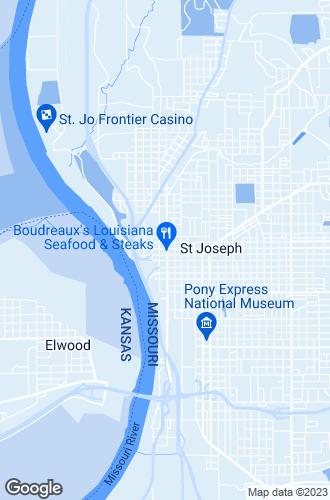 Map of Saint Joseph
