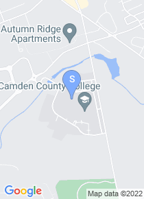 Camden County College map