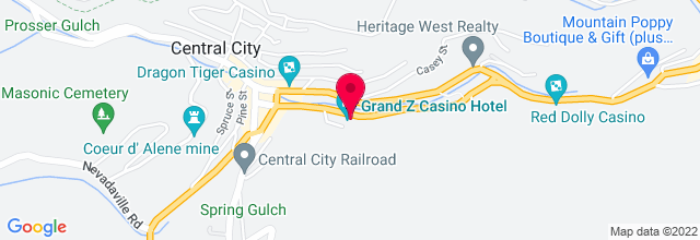 Map for Reserve Casino Hotel - Lava Room