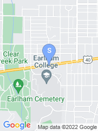 Earlham College map