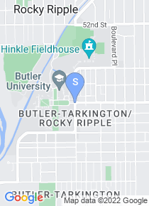 Butler University map