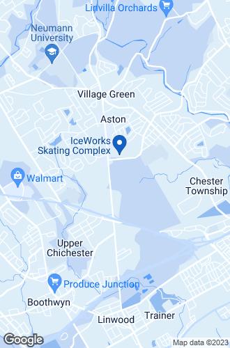 Map of Aston