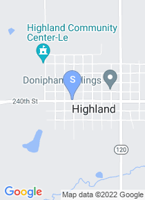 Highland Community College map