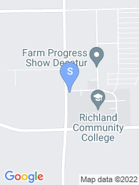 Richland Community College map
