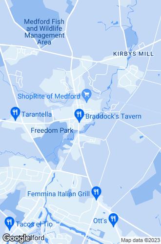 Map of Medford