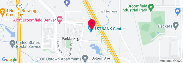 Map for 1stBANK Center