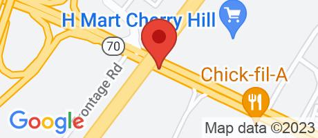 Branch Location Map - TD Bank, Atrium Branch, 1701 Marlton Pike E, Cherry Hill NJ