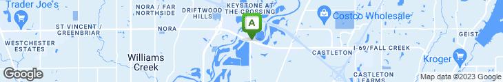 Map of Quiznos Sub