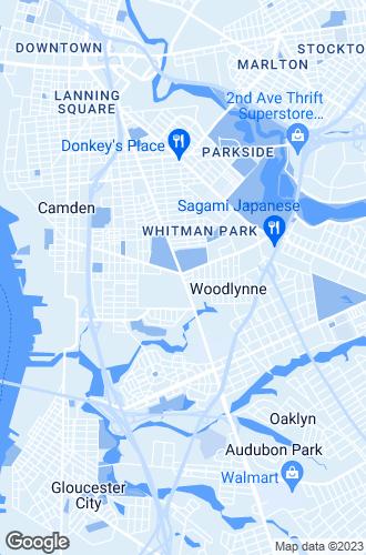 Map of Oaklyn
