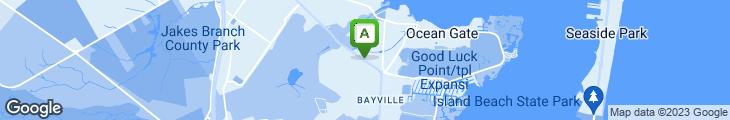Map of Manhattan Bagel