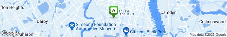 Map of Porter Street Pizza
