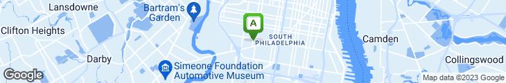 Map of Jackson Village Pizza