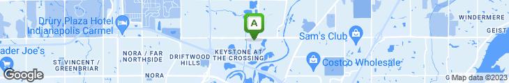 Map of Arni's Restaurant