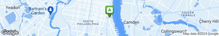 Map of New York New York Pizzeria