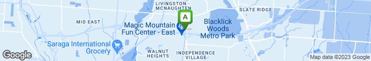Map of Bob Evans