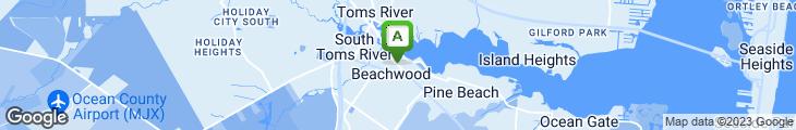 Map of The Pub At Beachwood
