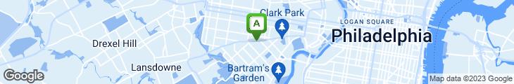 Map of Dock Street