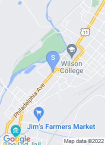 Wilson College map