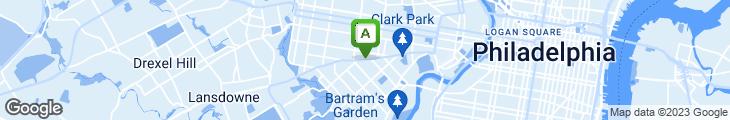 Map of Backstreet Brewery