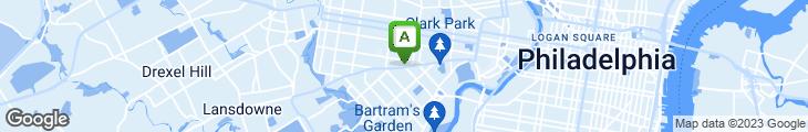 Map of Penn Cafe & Pizzeria