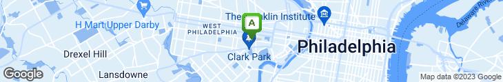 Map of Saigon Pho & Cafe