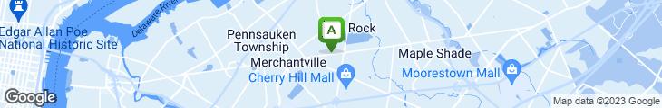 Map of Salvatores Pizza Restaurant