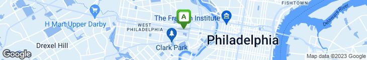 Map of Papa John's Pizza