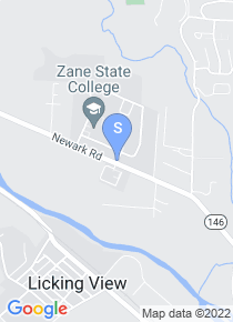 Zane State College map